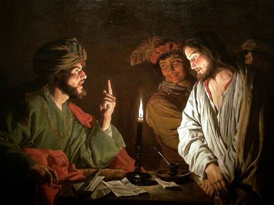 Christ Before Caiaphas, by Matthias Stom. Photo: Wikipedia