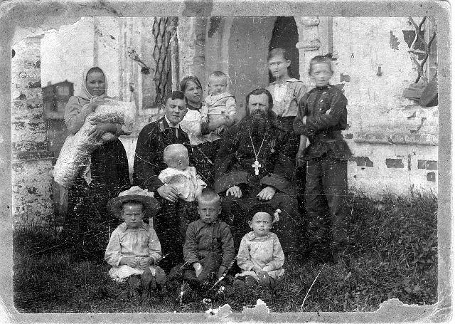 Священномученик Павел Малиновский с семьей