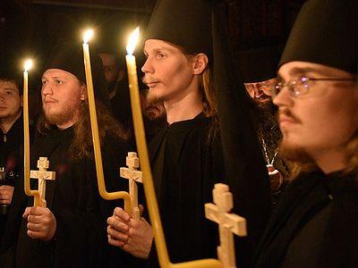В Сретенском монастыре совершен монашеский постриг