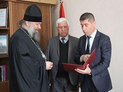 Душанбинская епархия получила свидетельство о государственной регистрации в Таджикистане