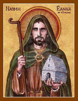 Святой Энда Инишморский (источник - Rosaryradio.blogspot.ru)