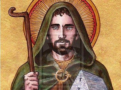Преподобный Энда, игумен Инишморский