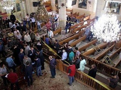 В Египте произошел теракт в коптских храмах, есть погибшие