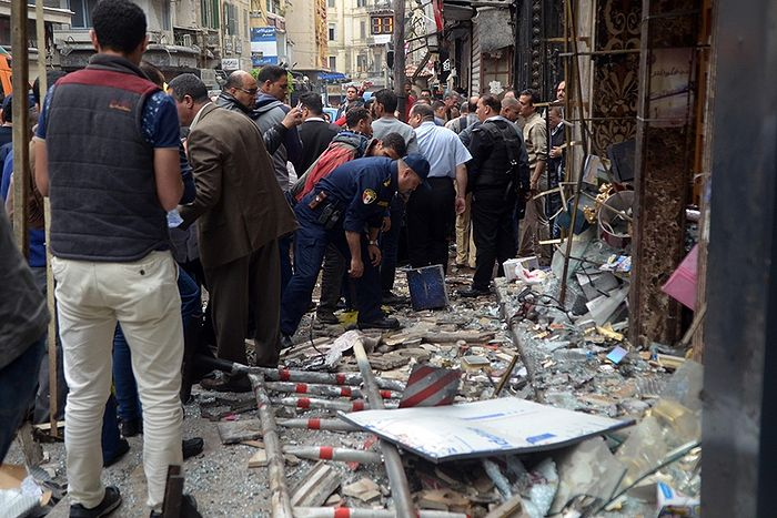 На месте взрыва в Александрии. Фото: Фото: ZUMA Press / Global Look Press