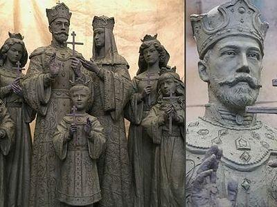 Состоялась приемка памятника Николаю II и его семье, который будет установлен в Дивеево