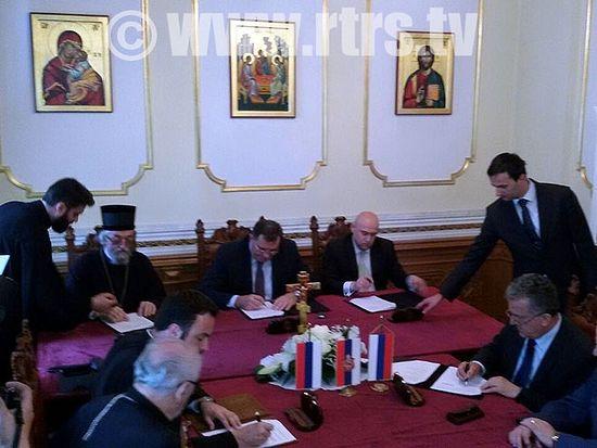 У Бањалуци ће се градити српско-руски православни храм. Фото: РТРС