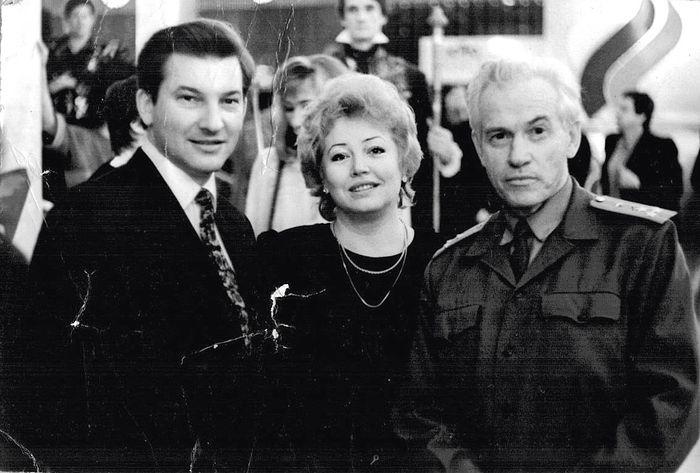С легендарным Владиславом Третьяком и его женой Татьяной