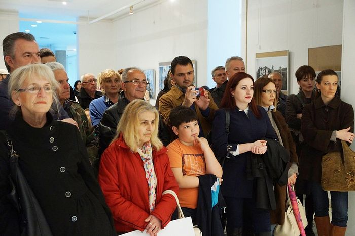 Открытие выставки в Народном музее г. Кральево