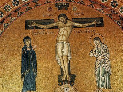 Кондак на распятие Господа преподобного Романа Сладкопевца