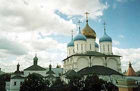 Спасский собор Новоспасского монастыря, заложенный при архимандрите Никоне