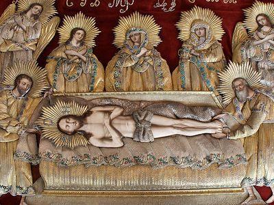 У Святой Плащаницы
