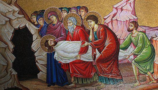 Положение Спасителя во Гроб