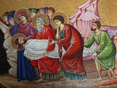 Утреня Великой Субботы в Сретенском монастыре