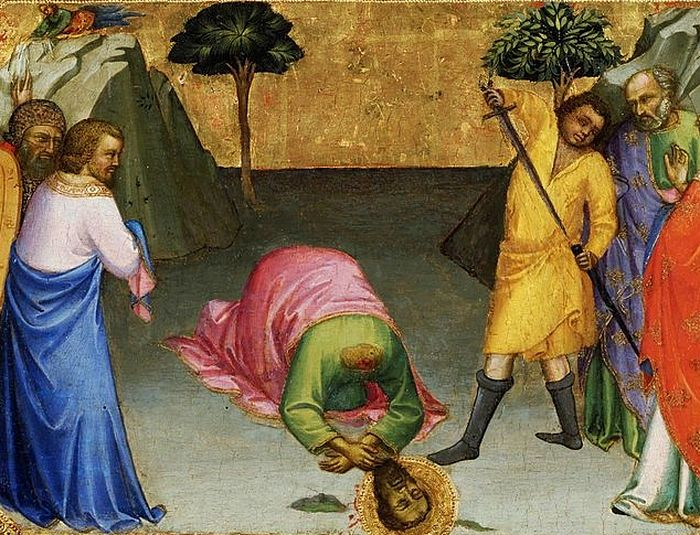 Lorenzo Monaco, Beheading of Saint Paul, 1398–1400