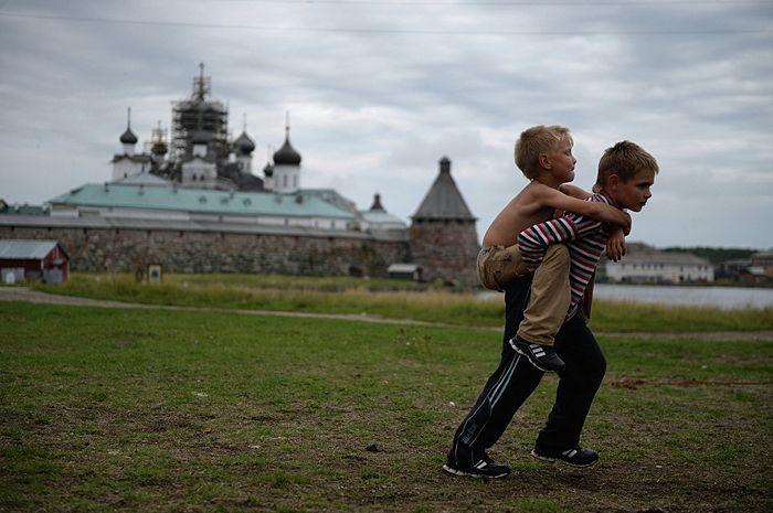 Жизнь на Соловецком архипелаге. Фото: РИА Новости/Константин Чалабов