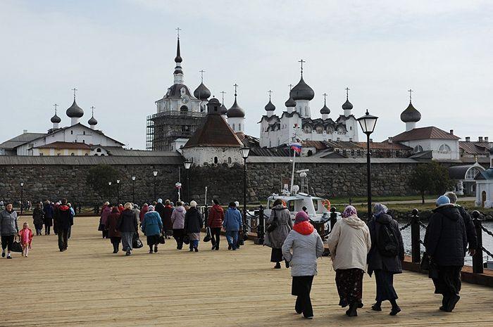 Соловецкий монастырь. Фото: РИА Новости/Сергей Ермохин