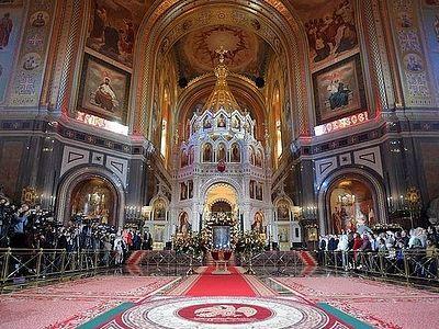Владимир Путин поздравил православных христиан и всех граждан России с Пасхой