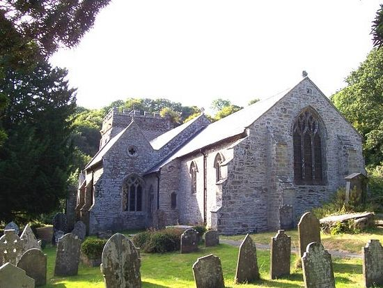 Church of St. Brynach in Nevern, Pembrokeshire (source - Wikipedia)