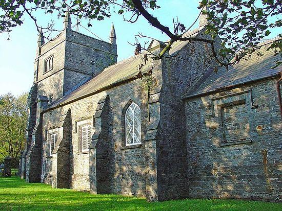 St. Brynach's Church in Llanfyrnach, Pembrokeshire