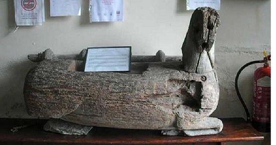 St. Derfel Gadarn's horse at Llandderfel church, Gwynedd (source - Walesonline.co.uk)