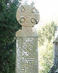 The Celtic cross at Nevern (tenth cent.)