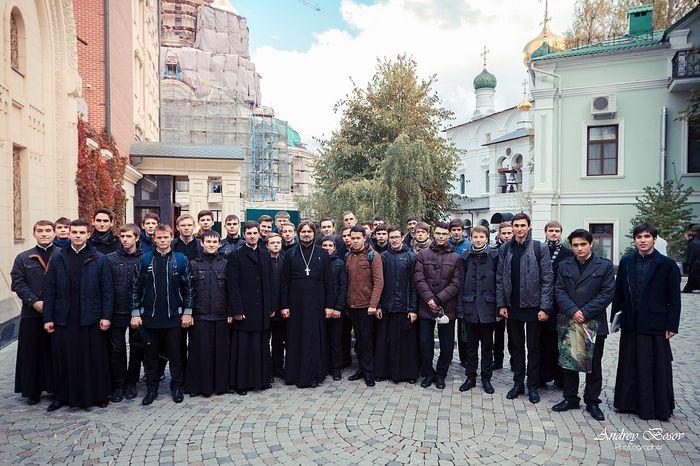 Поездка в Сретенскую семинарию