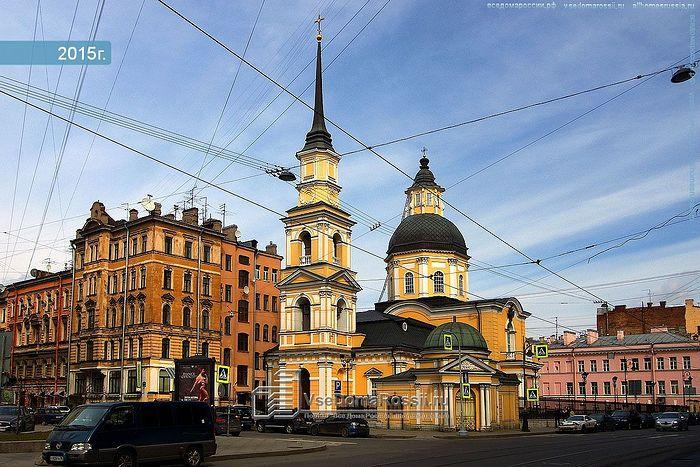 Церковь во имя праведных Симеона и Анны на Моховой улице
