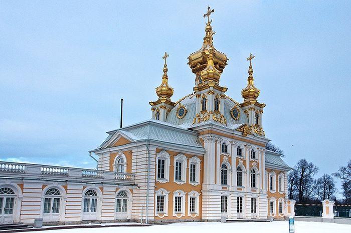 Церковь Петра и Павла в Большом Петергофском дворце