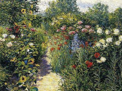 Сад неувядаемых цветов: в преддверии весны