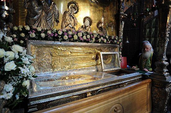 The Relics of St. Sergius of Radonezh