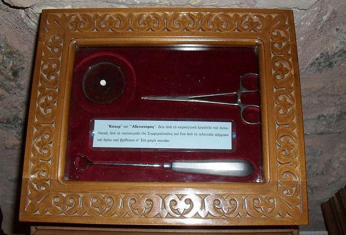 Монастырь Сагмата. Реликвии, связанные со святителем Лукой
