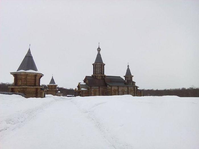Свято-Троицкий Трифонов Печенгский монастырь