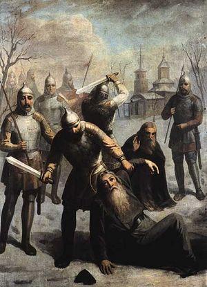 Гибель 116 печенгских преподобномучеников