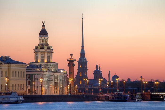 St Petersburg. Photo: The Neva Room