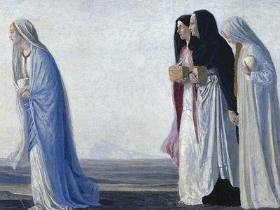 Отвага и мужество жен-мироносиц. Часть 1