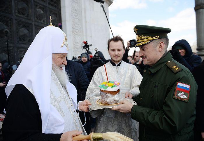 Пасха 2017 года. Фото patriarchia.ru