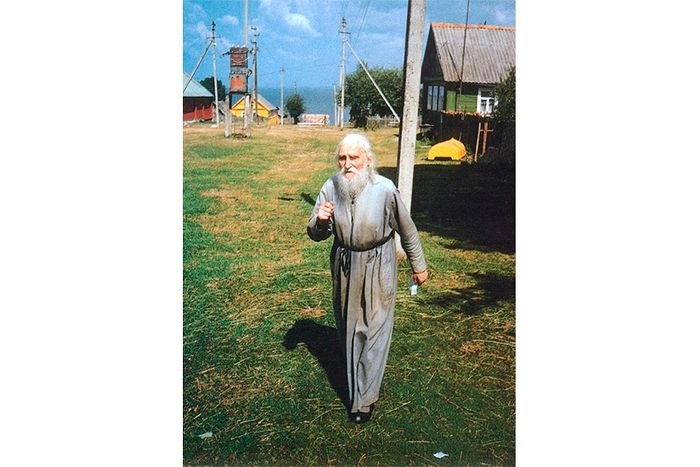 Походка отца Николая Гурьянова была легка и скора