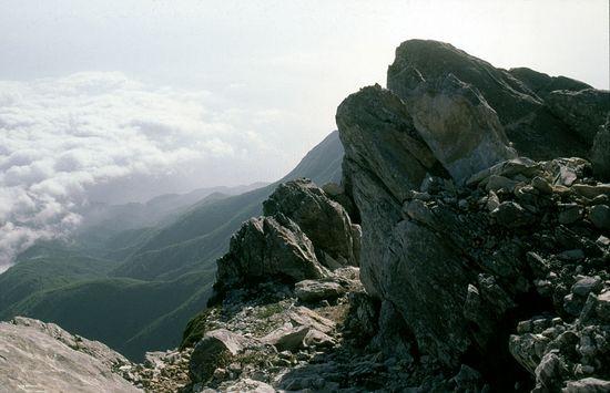 The summit of Mt. Athos. Photo: holymountain.omeka.net