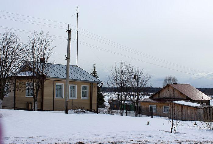 Дом Александры Колеговой, в котором отец Иоанн проживал незадолго до смерти