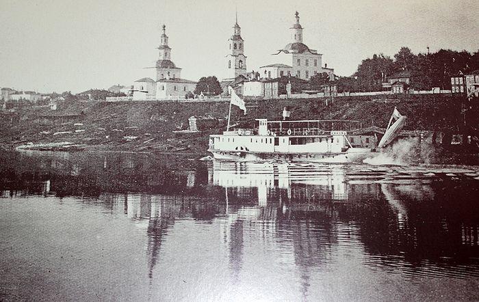 Троицкий собор города Усть-Сысольска, в котором служили священники Головковы