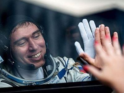 Сергей Волков: Полет в космос – работа всей семьи