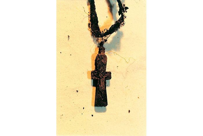 Нательный крестик Матроны Московской