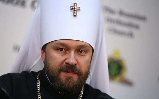 Met. Hilarion (Alfeyev). Photo: TASS