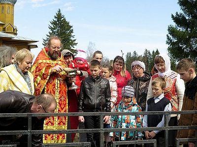 1 мая на родине Святителя Николая Японского была посажена аллея сакуры