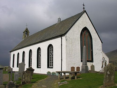 Amulree new church (source - 'Undiscovered Scotland' website)
