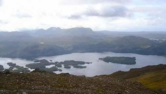 Islands in Loch Maree