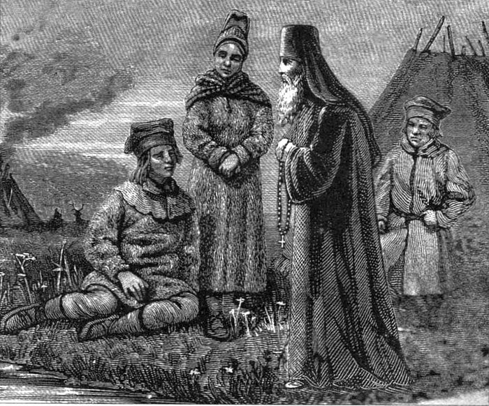 Проповедь лопарям