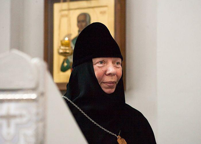 Игумения Ангелина (Нестерова), фото предоставлено пресс-службой Спасо-Богородицкого Одигитриевского женского монастыря