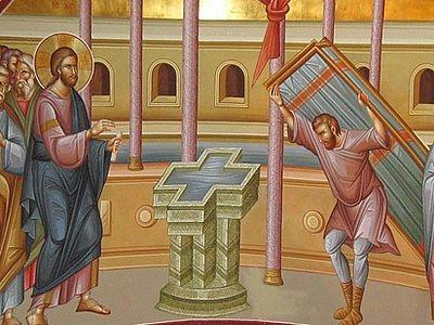Всенощное бдение в Сретенском монастыре накануне Недели 4-й по Пасхе