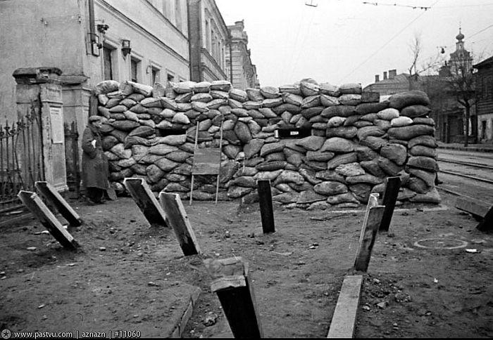 Москва в военные годы
